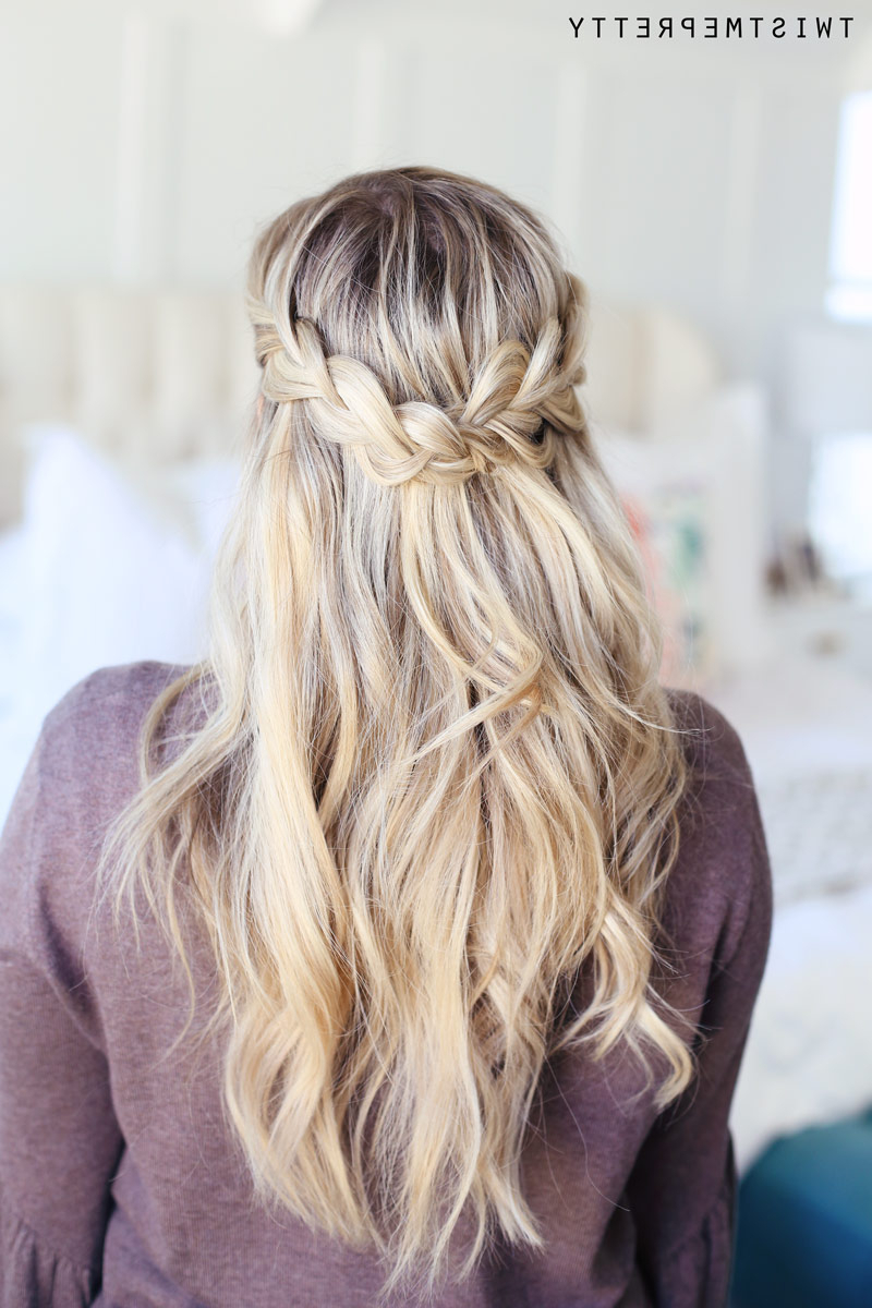 How To Do A Crown Braid (2 Ways) – Twist Me Pretty With Trendy Crown Braid Hairstyles (Gallery 5 of 20)