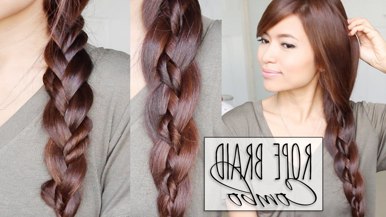 How To Do A Four Strand Braid (without Losing It) (View 2 of 20)