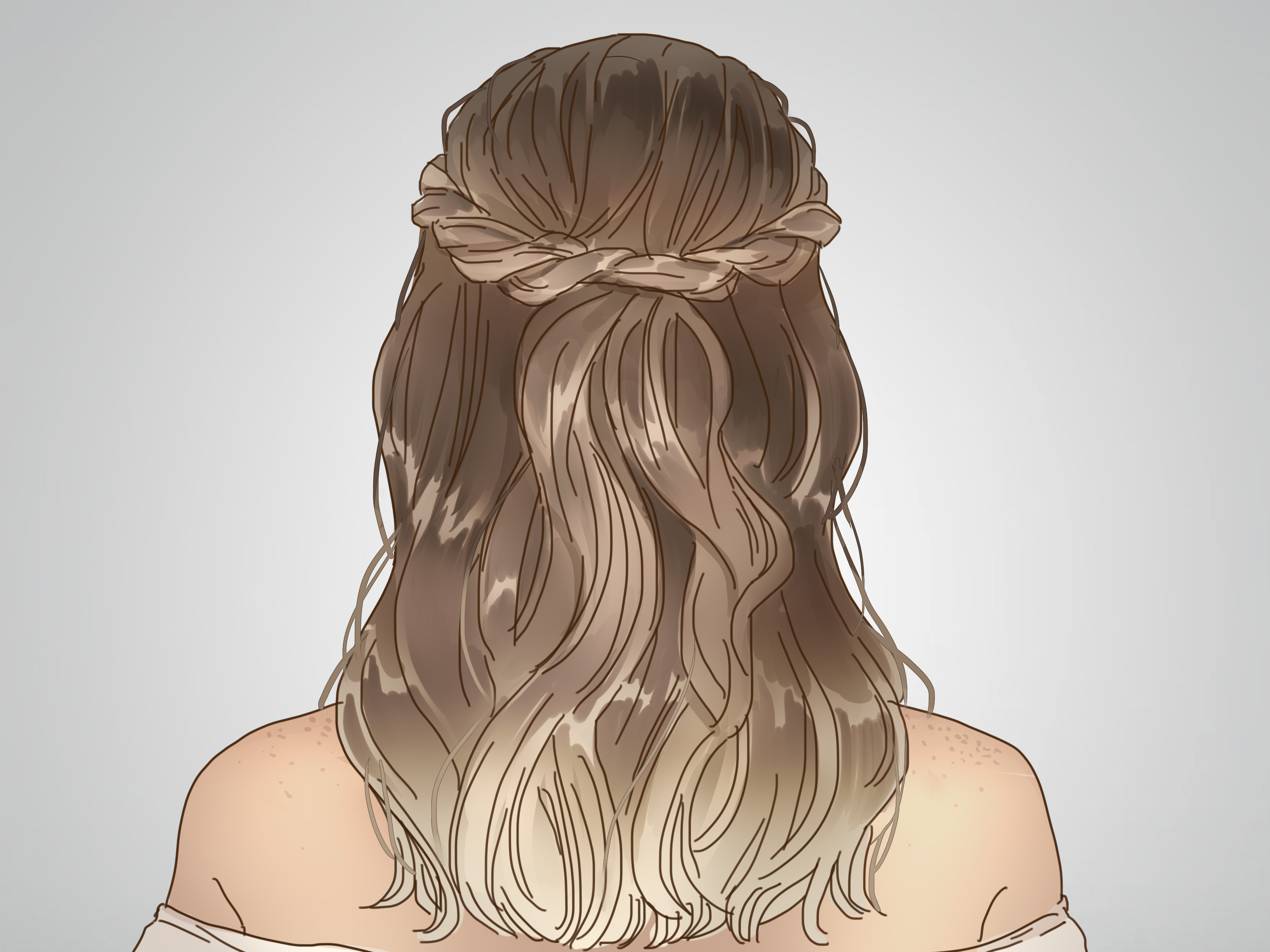How To Do A Twisted Crown Hairstyle (With Pictures) – Wikihow Throughout Current Loose Twist Hairstyles With Hair Wrap (Gallery 6 of 20)