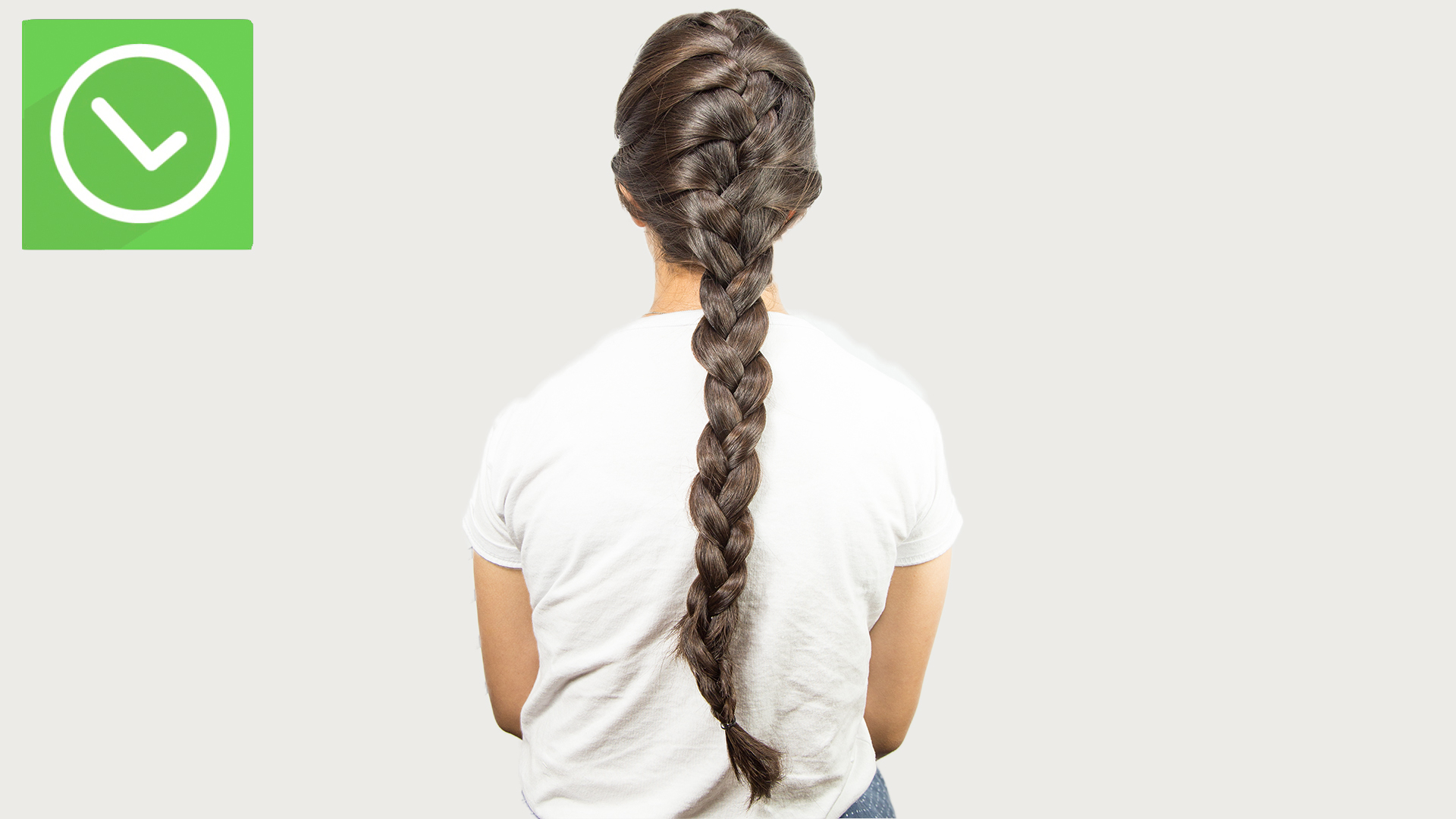 How To French Braid: 14 Steps (with Pictures) – Wikihow Inside 2020 Easy French Rope Braid Hairstyles (View 11 of 20)