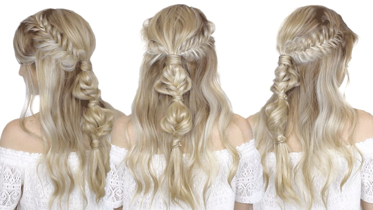 How To: Half Up Half Down Festival Hair Tutorial (Gallery 12 of 20)