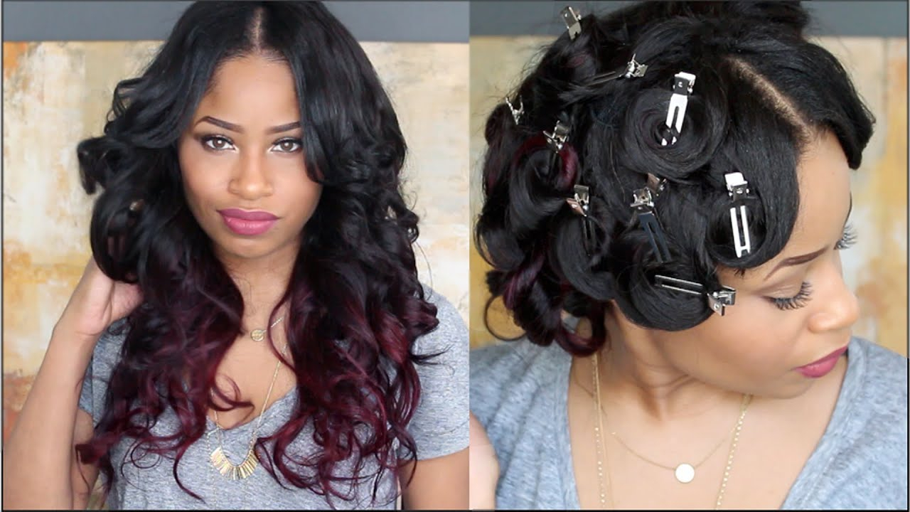How To: Pin Curl That Hair ! Throughout Most Recent Pinned Curls Hairstyles (Gallery 1 of 20)