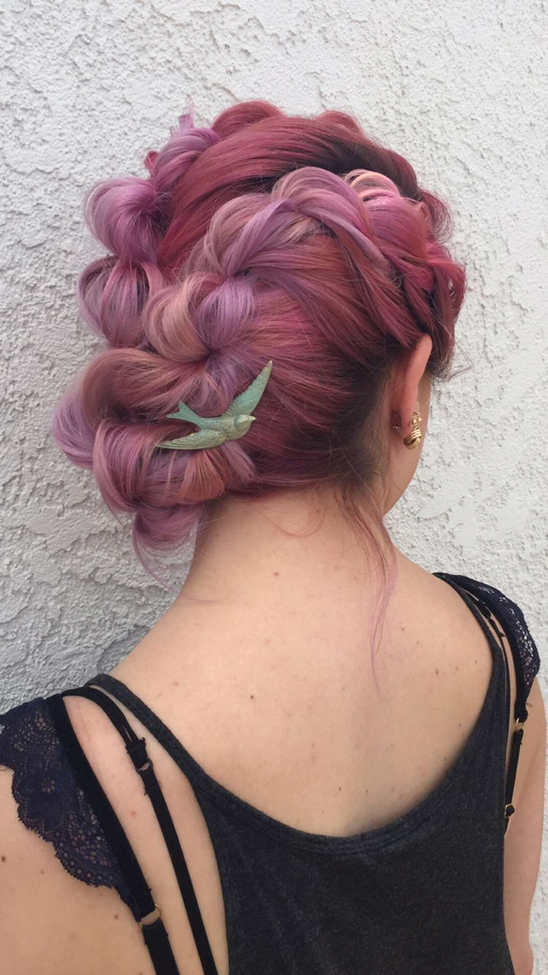 Featured Photo of Pastel Colored Updo Hairstyles With Rope Twist