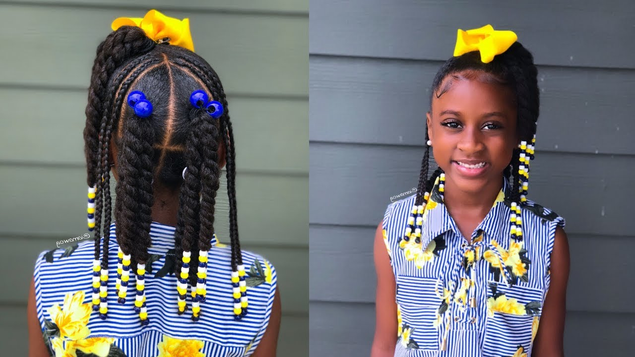 Iamawog Regarding Widely Used Box Braid Bead Ponytail Hairstyles (View 10 of 20)