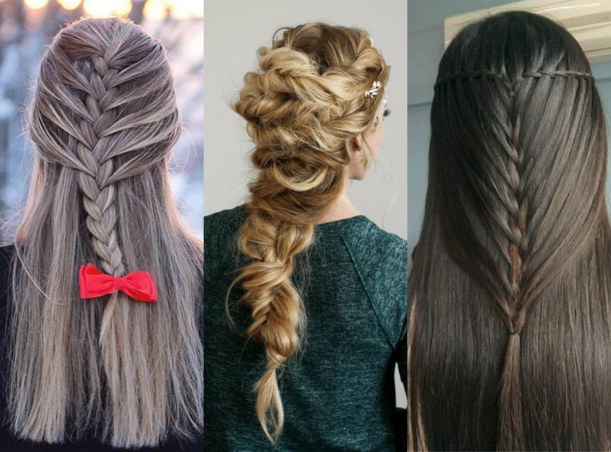 Inspiring Half Up Mermaid Braids To Impress Everybody Intended For Preferred Waterfall Mermaid Braid Hairstyles (Gallery 11 of 20)