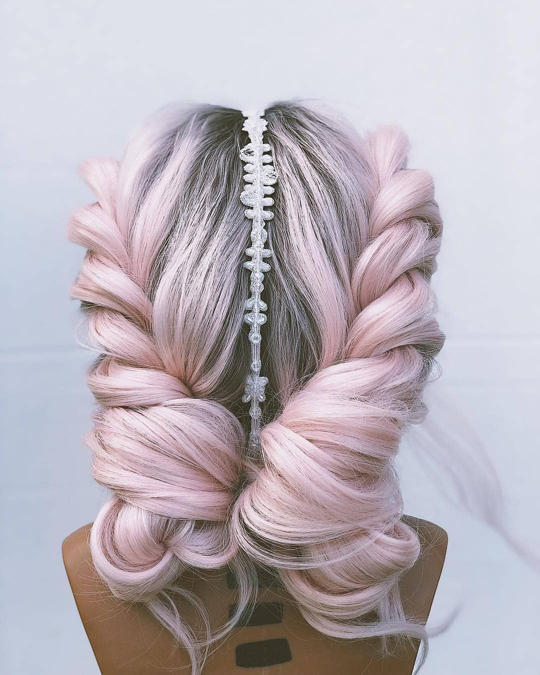 "Isa Professional On Instagram: ""Amazing Pink Rope Braids Regarding Popular Pink Rope Braided Hairstyles (Gallery 2 of 20)"