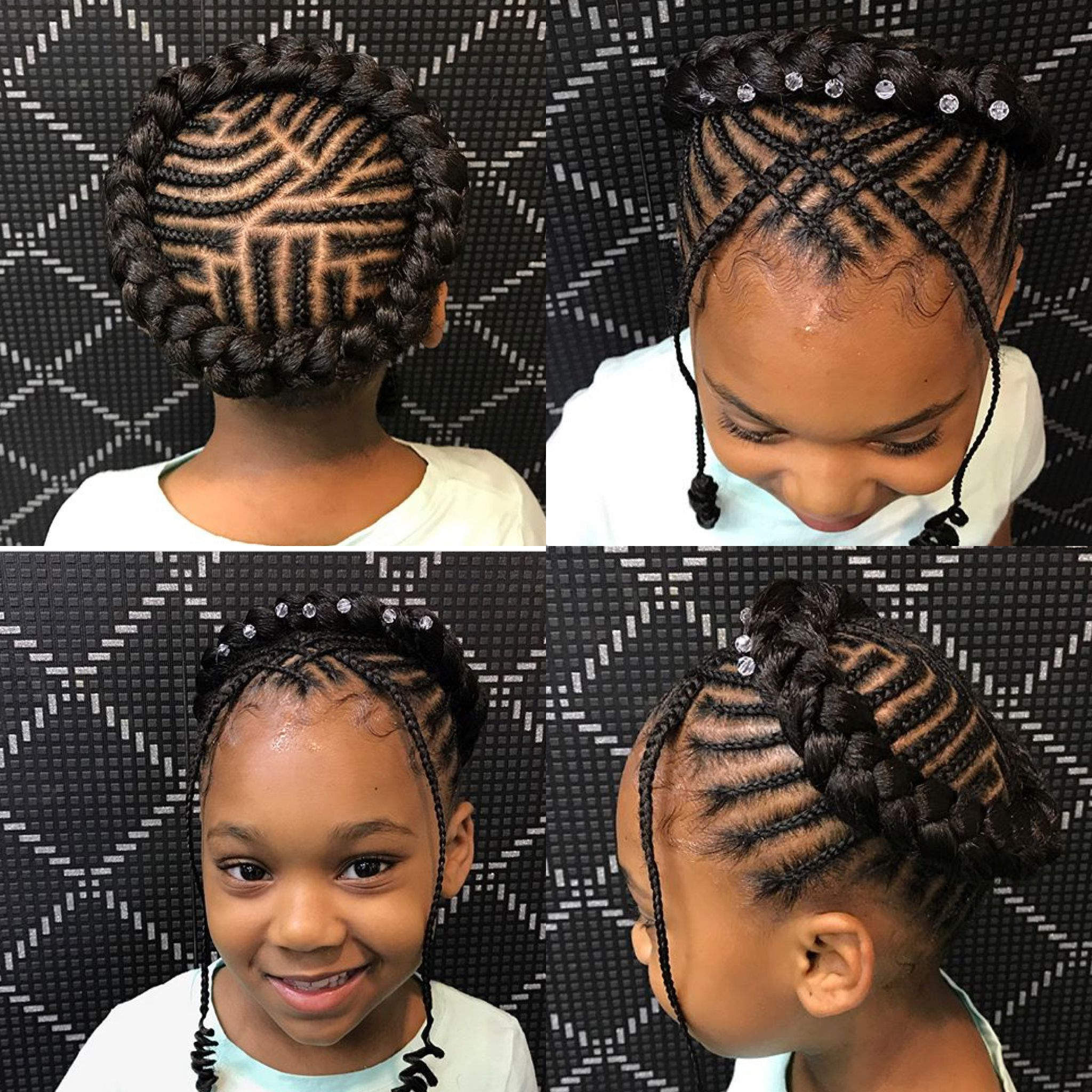 Kids Hair With Regard To 2019 Halo Braided Hairstyles With Beads (View 10 of 20)
