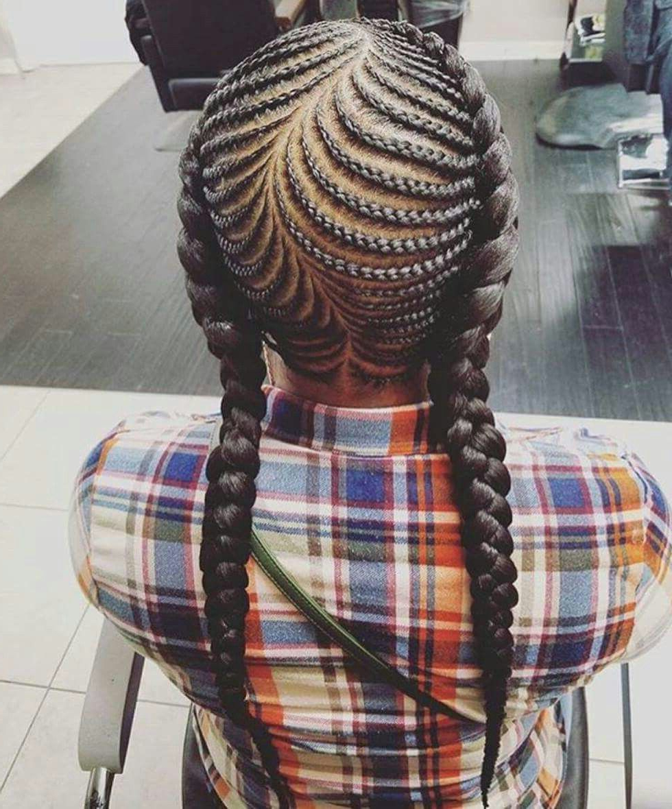 Latest Awesome Ghana Braids Hairstyles (Gallery 1 of 20)