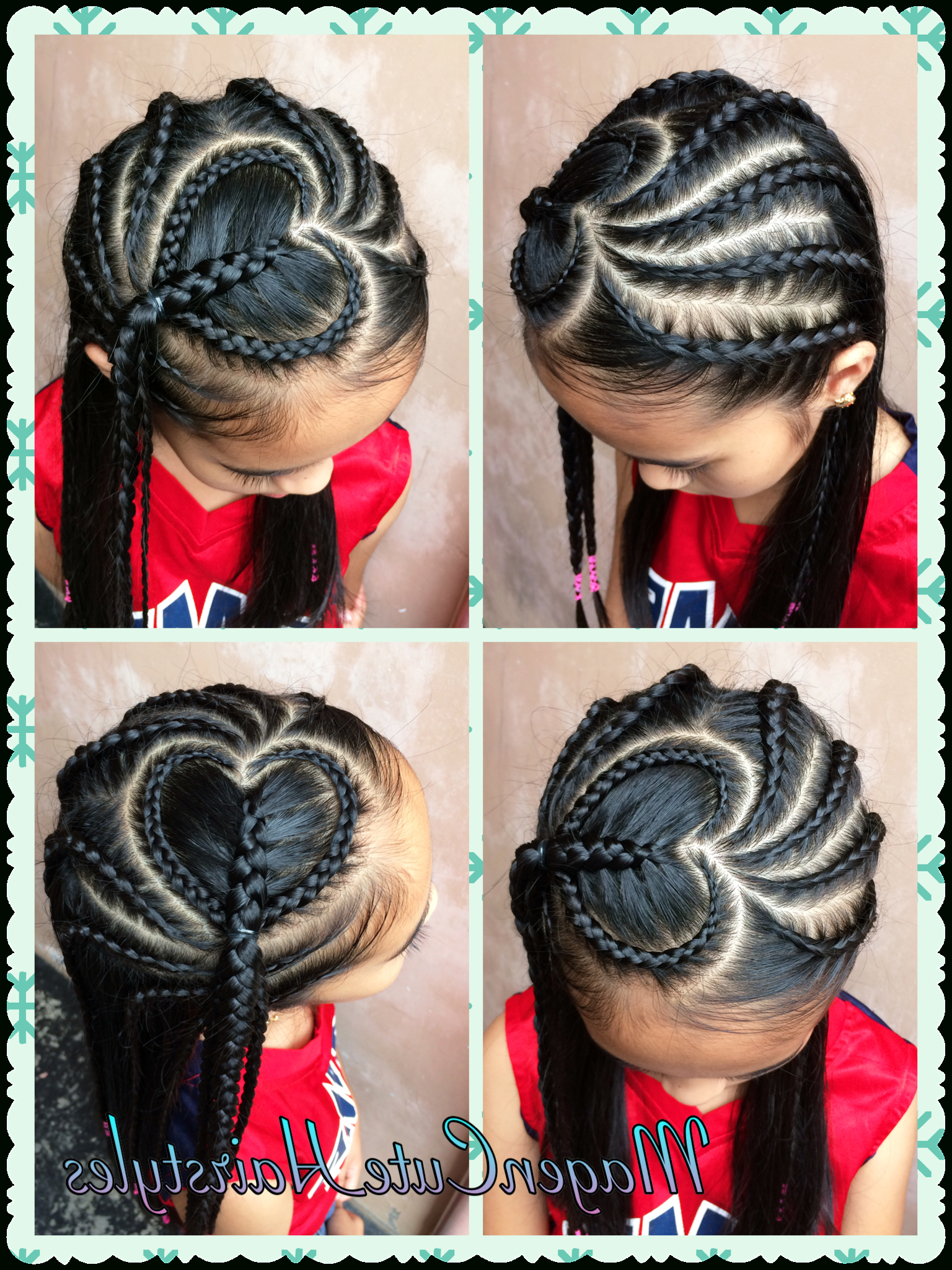 Latest Heart Shaped Fishtail Under Braid Hairstyles In Heart Shape Dutch Braid Style❤️❤️❤️ (Gallery 2 of 20)