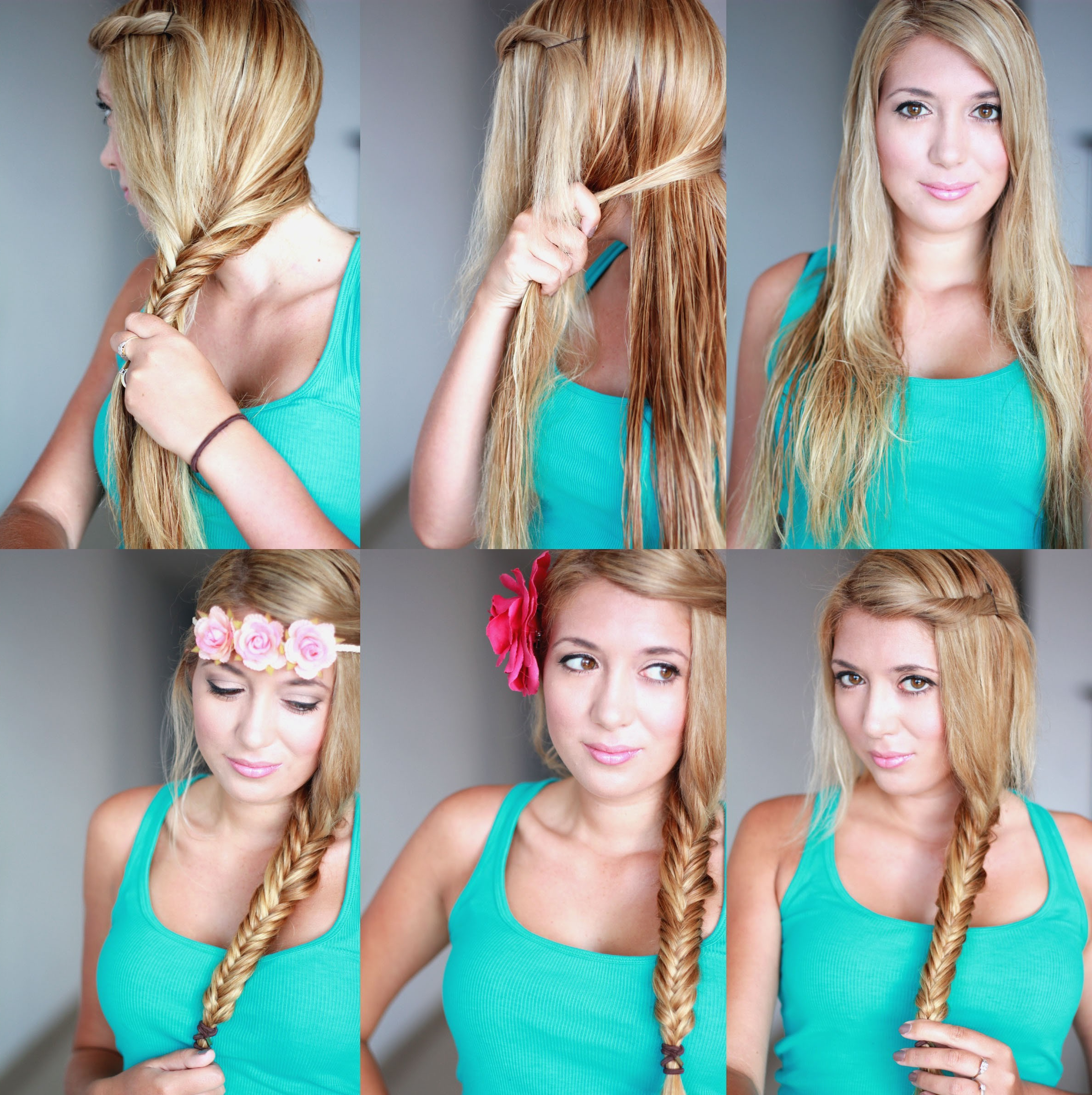 Latest Messy Side Fishtail Braided Hairstyles Intended For Cute Braided Hairstyle Tutorial For Girls: How To Fishtail (View 8 of 20)