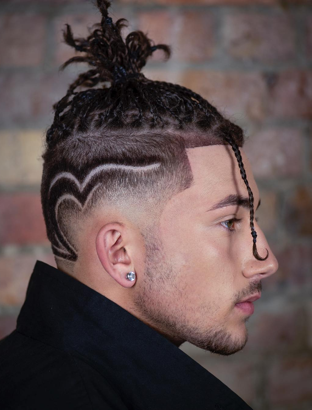 Latest Mohawk Under Braid Hairstyles Throughout Manbraid Alert: An Easy Guide To Braids For Men (Gallery 11 of 20)