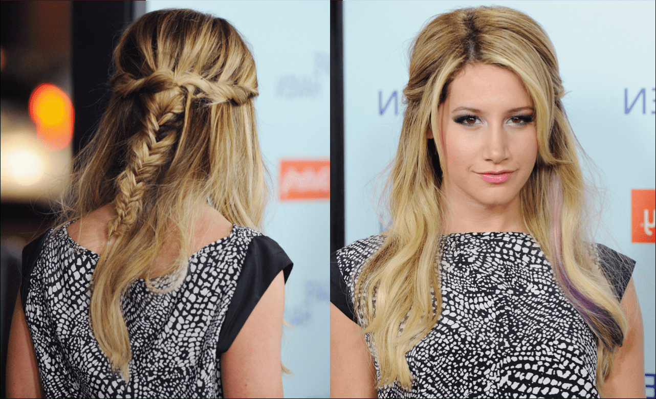 Latest Pinned Back Side Hairstyles In A Slideshow Of Pinned Back Hairstyles For Prom (Gallery 4 of 20)