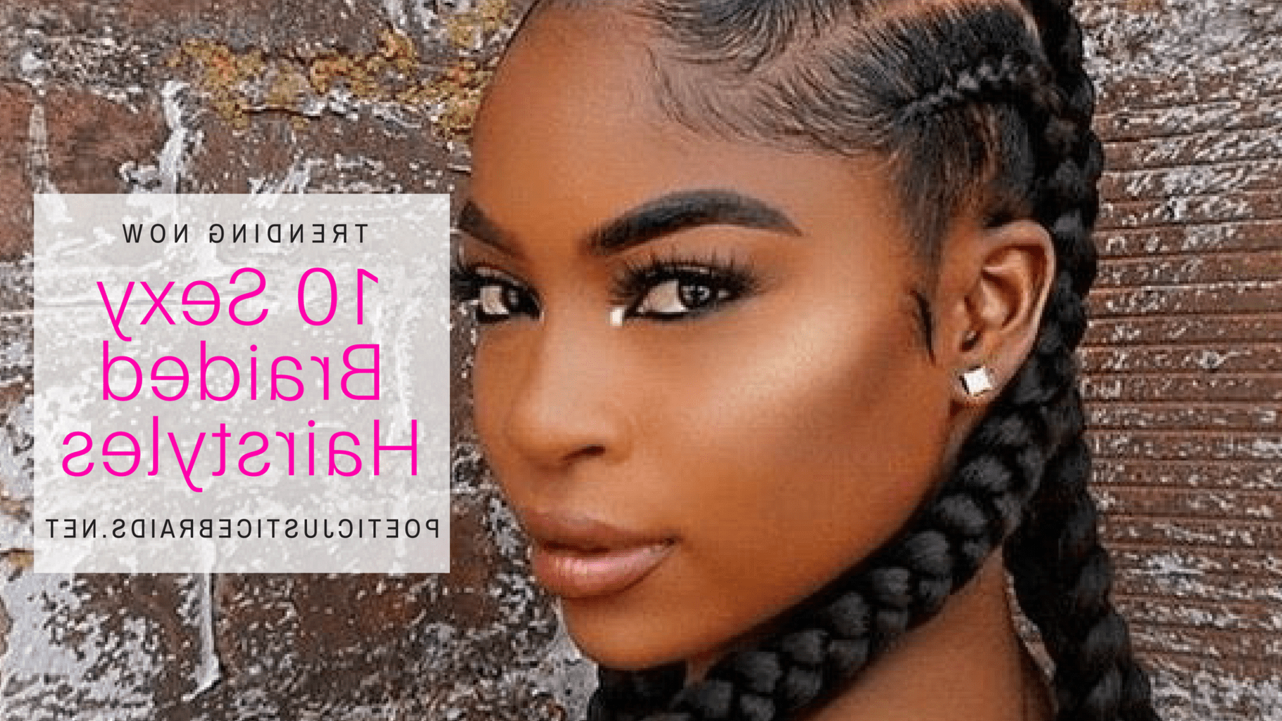 Latest Tree Micro Braids With Side Undercut Pertaining To Braided Hairstyles For Black Women Trending 2015 (Gallery 13 of 20)