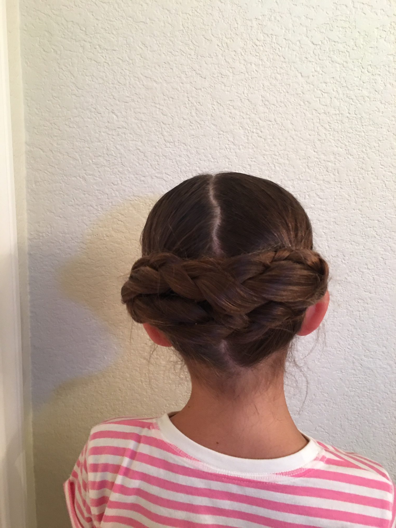 Latest Triple Under Braid Hairstyles With A Bun Regarding 15 Little Girl Hairstyles For School – Million Ways To Mother (View 10 of 20)