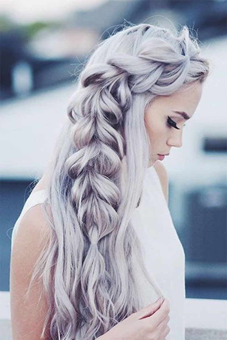Long Hair Don't Care В 2019 Г Inside Famous Long Blonde Braid Hairstyles (Gallery 19 of 20)