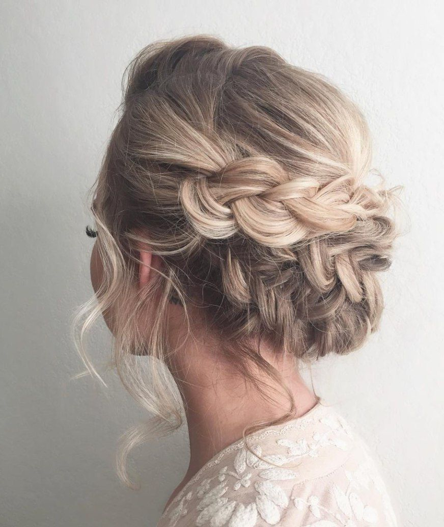 Loose Updo With Dutch Braids (Gallery 8 of 20)