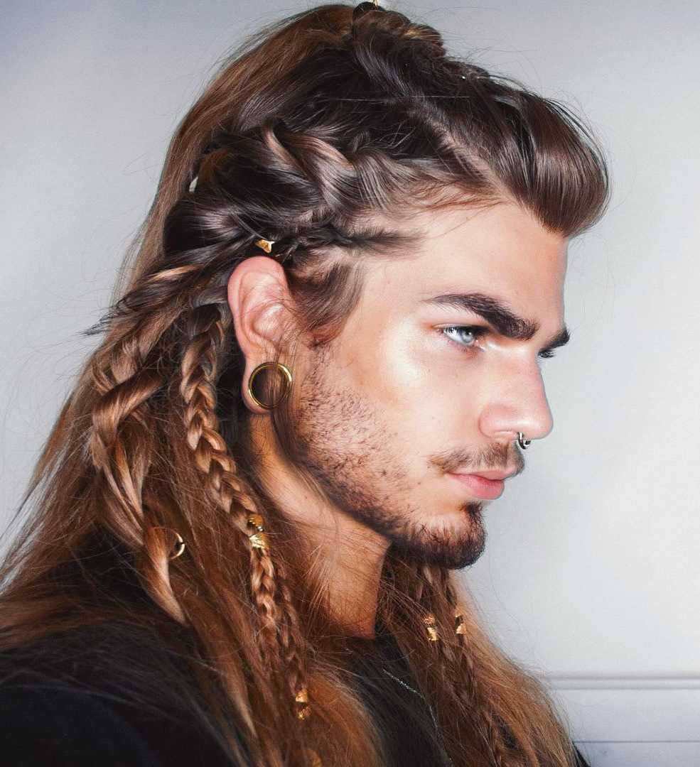 Manbraid Alert: An Easy Guide To Braids For Men In Most Current Long Hairstyles With Multiple Braids (View 10 of 20)