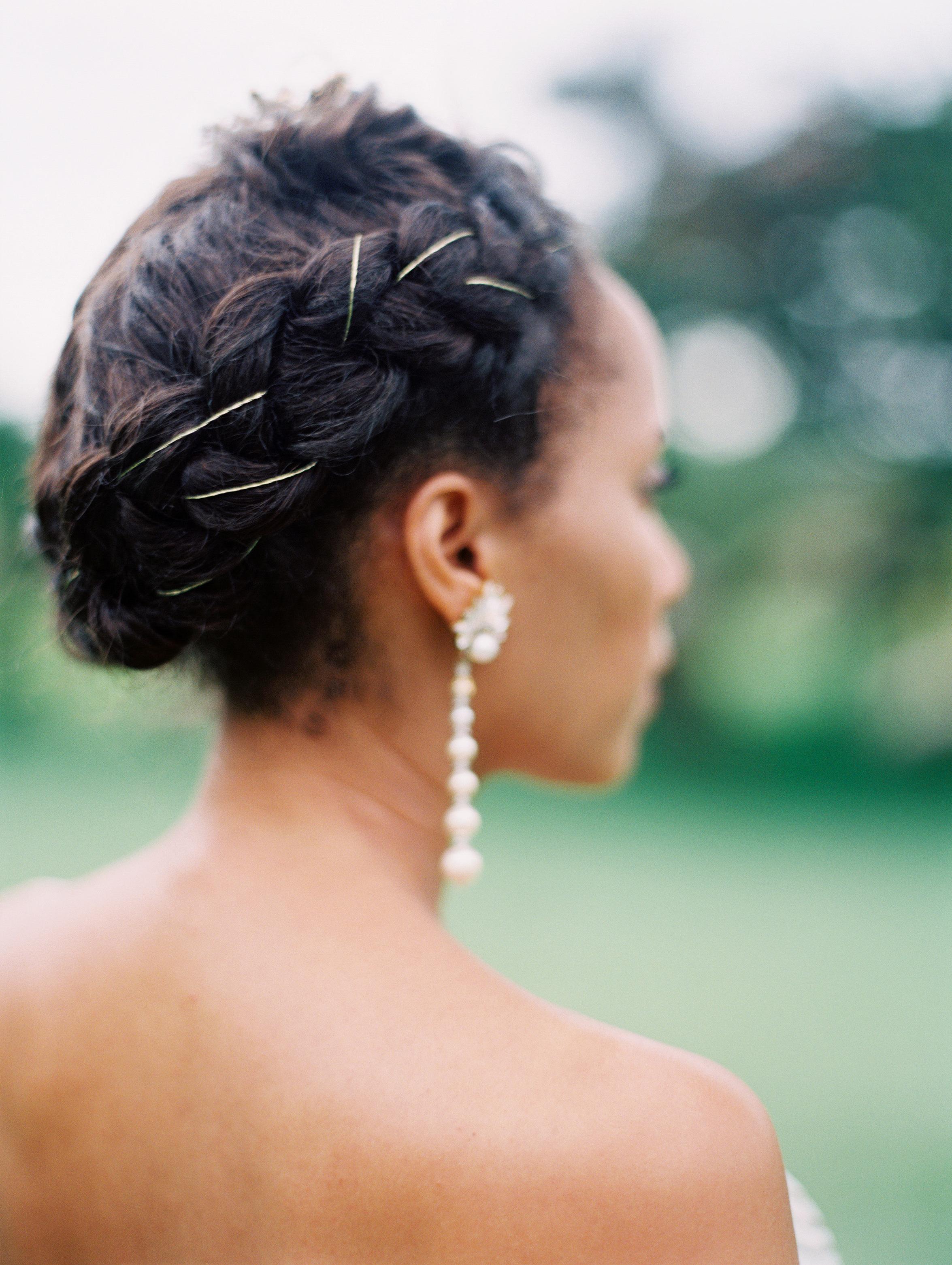 Martha Stewart Weddings In Latest Braided Underside Hairstyles (View 15 of 20)
