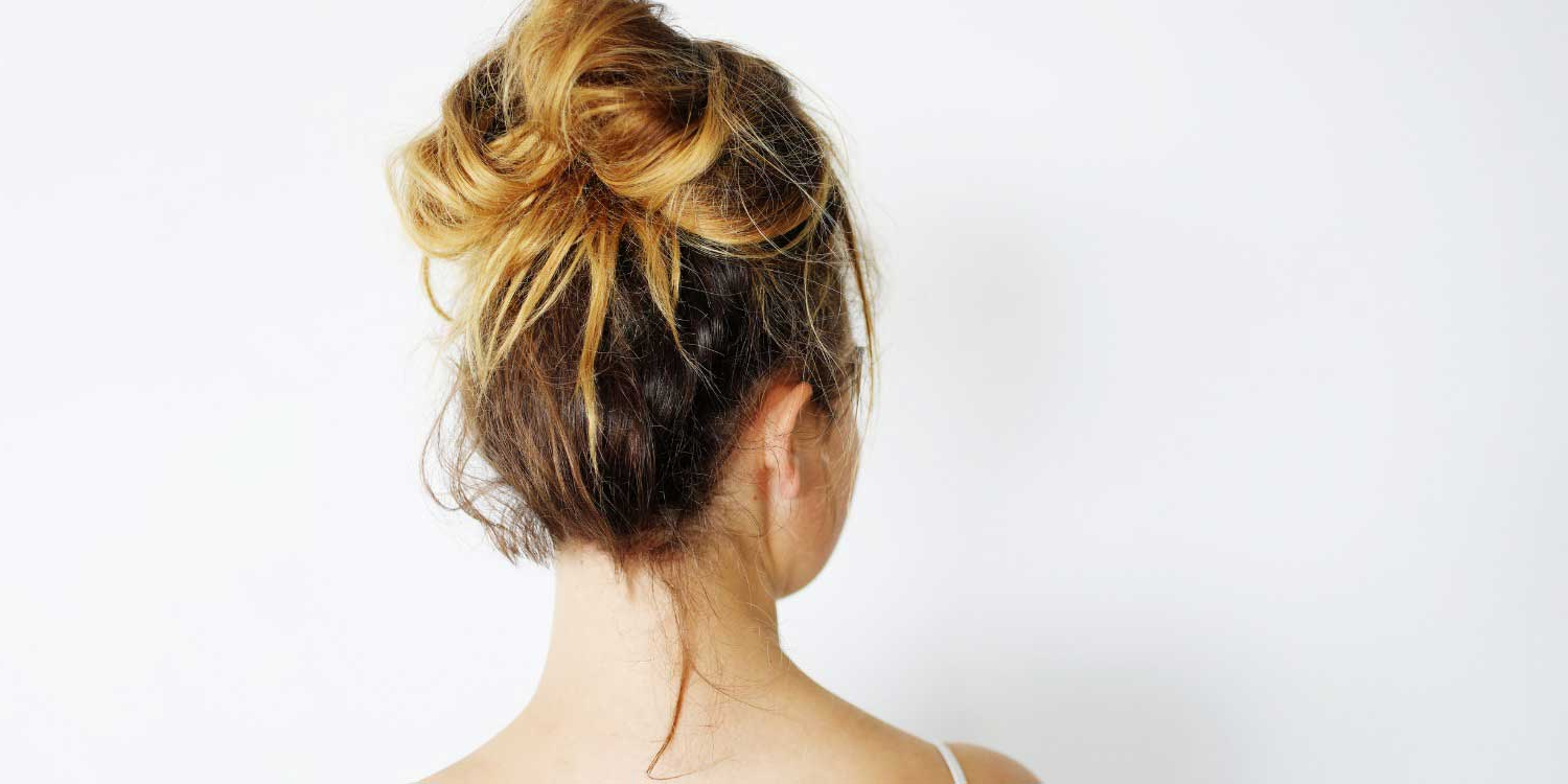 Matrix Regarding Newest Messy Bun Hairstyles (View 11 of 20)