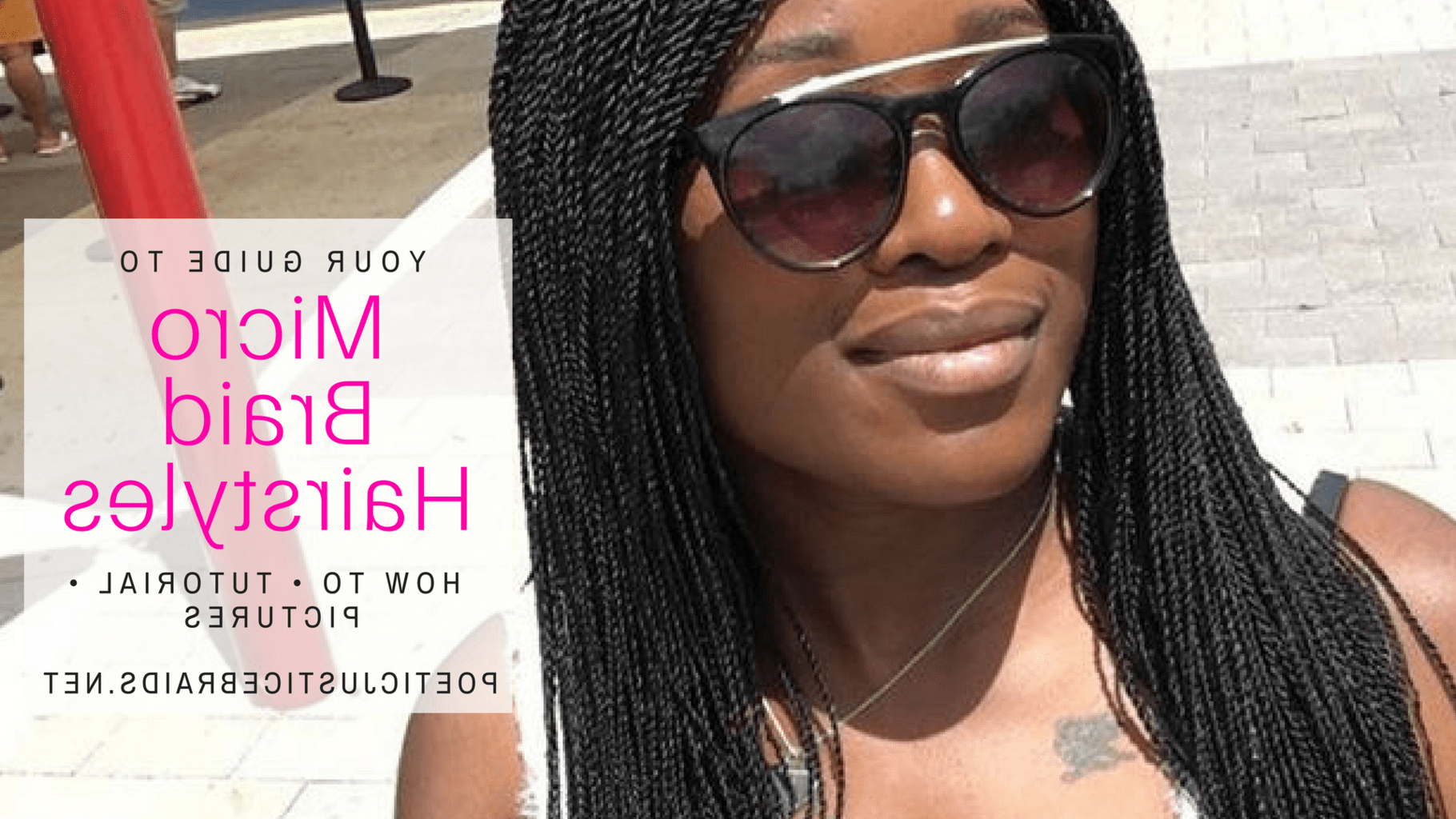 Micro Braids Hairstyles – How To Style, Pictures, Video With 2020 Super Tiny Braids (View 9 of 20)