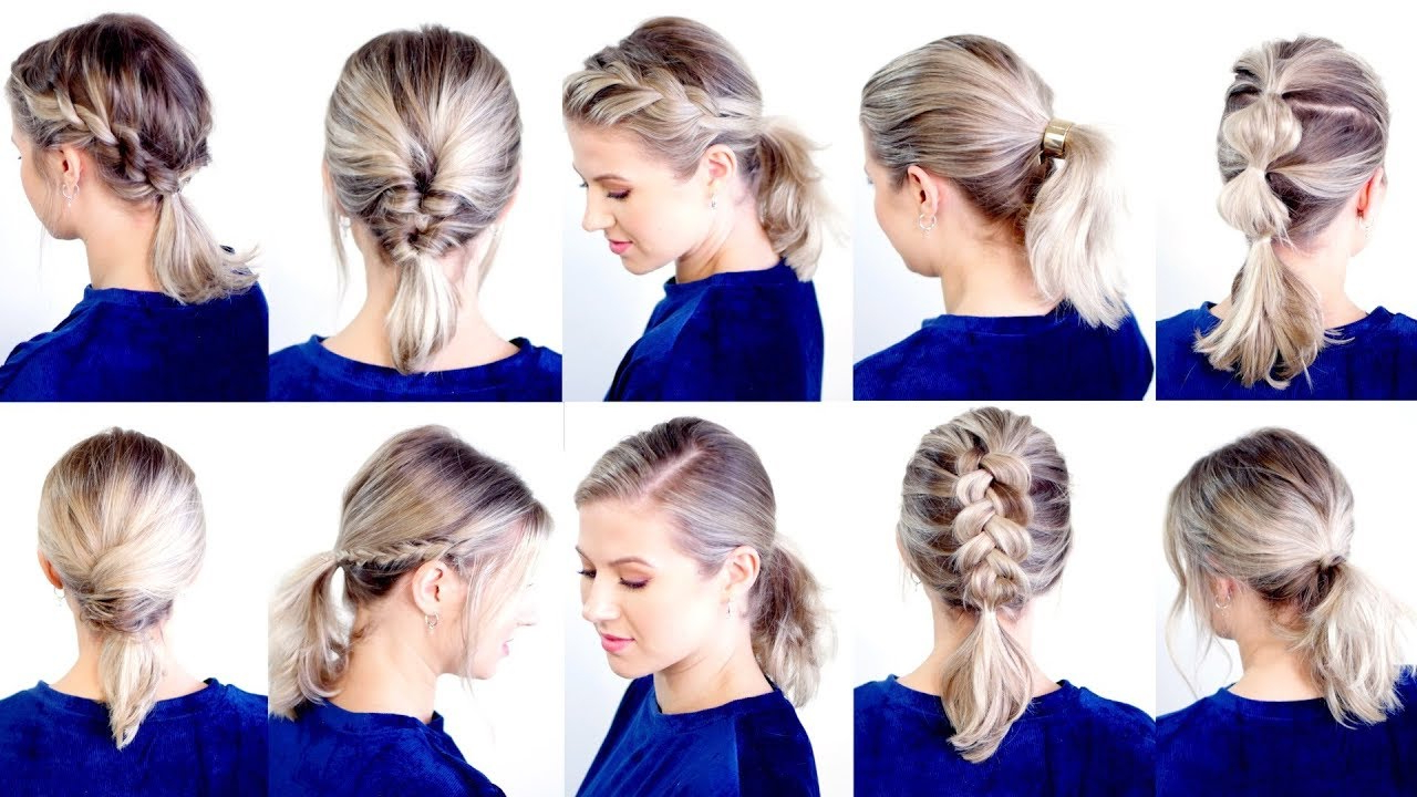 Featured Photo of Low Ponytail Hairstyles