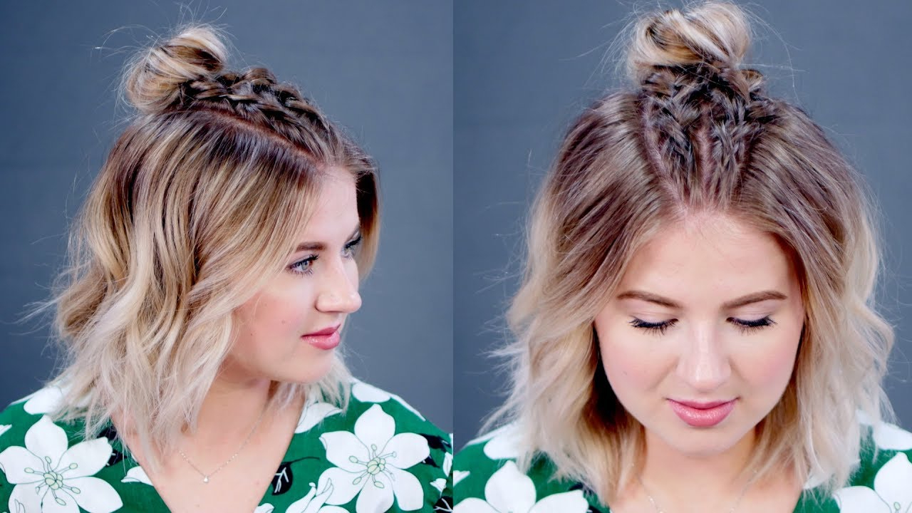 Milabu With Popular Double Mini Buns Updo Hairstyles (View 8 of 20)