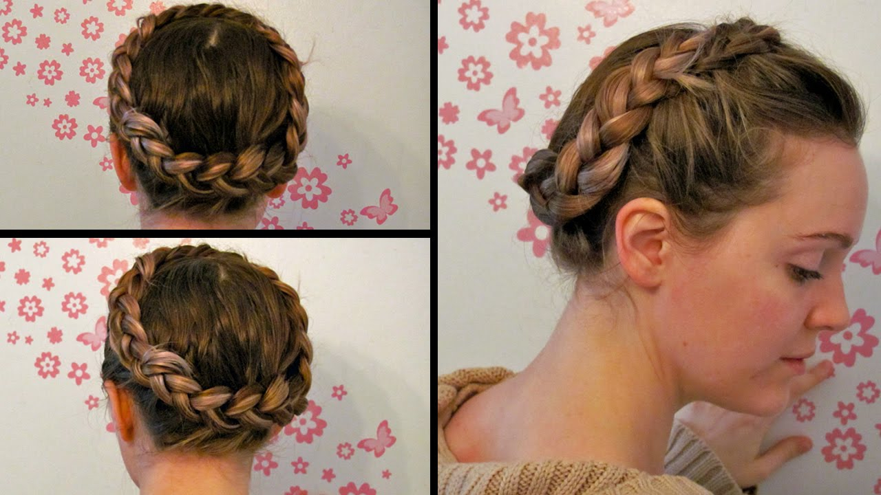 Featured Photo of Milkmaid Crown Braided Hairstyles