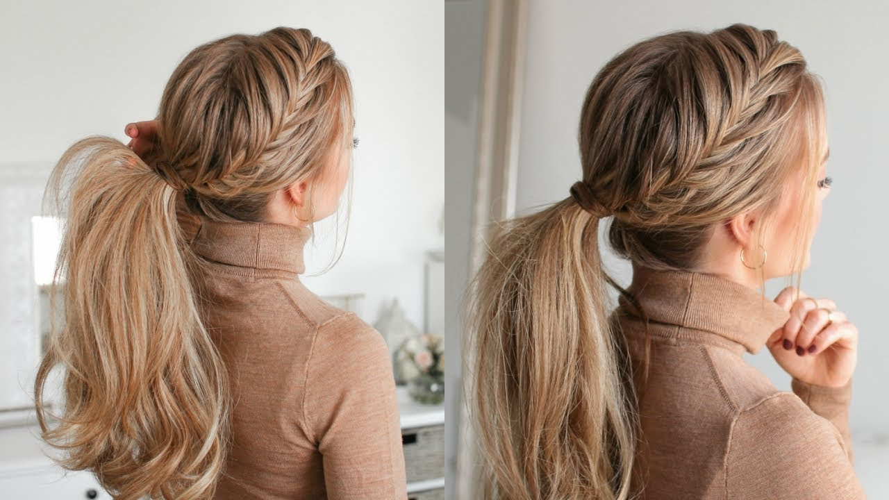 Missy Sue For 2019 Fishtail Braid Pontyail Hairstyles (View 5 of 20)