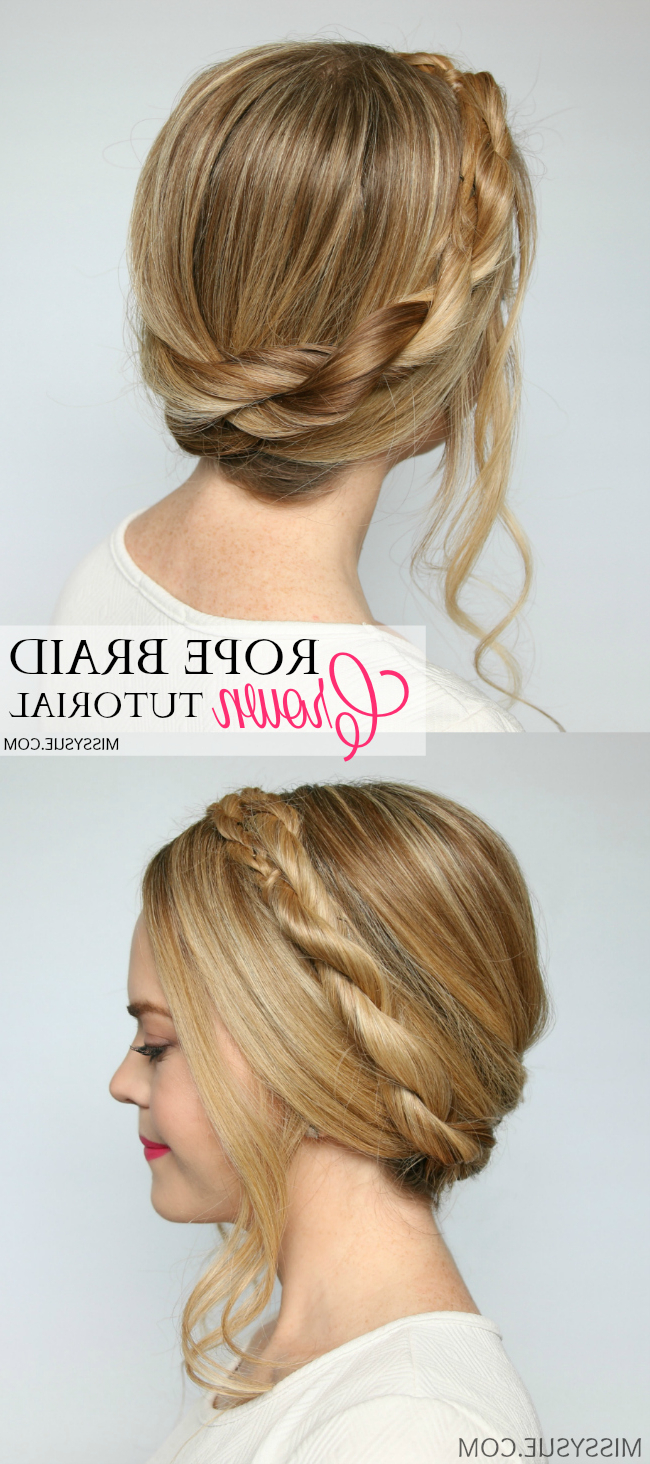 Missy Sue For Latest Casual Rope Braid Hairstyles (View 11 of 20)
