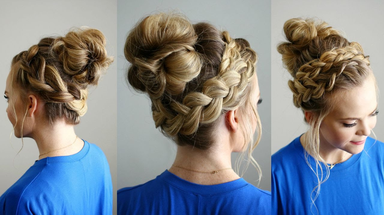 Missy Sue Pertaining To Fashionable Braided Top Knot Hairstyles (View 19 of 20)