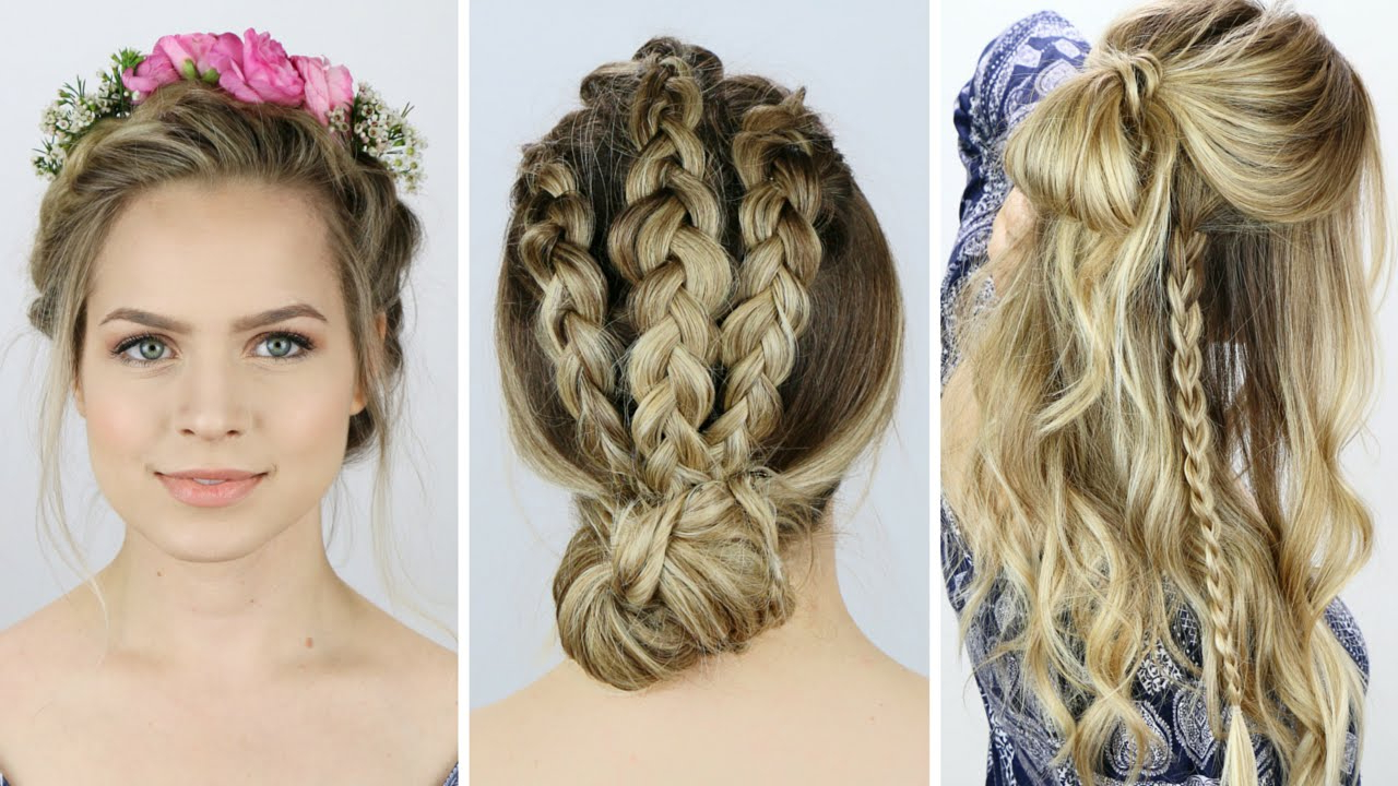 More Unique Festival Hairstyles You Can Flaunt This Season For Famous Nostalgic Knotted Mermaid Braid Hairstyles (View 13 of 20)