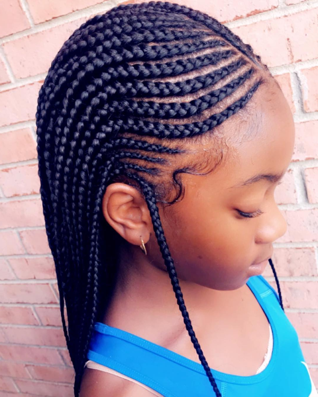 Most Current Blue Sunset Skinny Braided Hairstyles Pertaining To 96 Tree Braid Hairstyles That Will Get You Back To Nature (View 11 of 20)