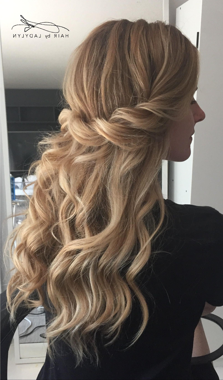 Most Current Boho Half Braid Hairstyles Regarding 86 Bridal Hair Half Up Braid (View 20 of 20)