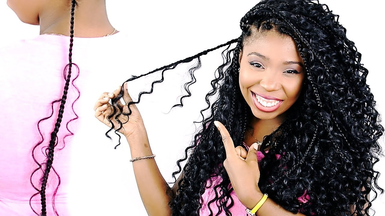 Most Current Curly And Messy Micro Braid Hairstyles For How To: Goddess Box Braids Tutorial For Beginners! (very Detailed) (View 5 of 20)