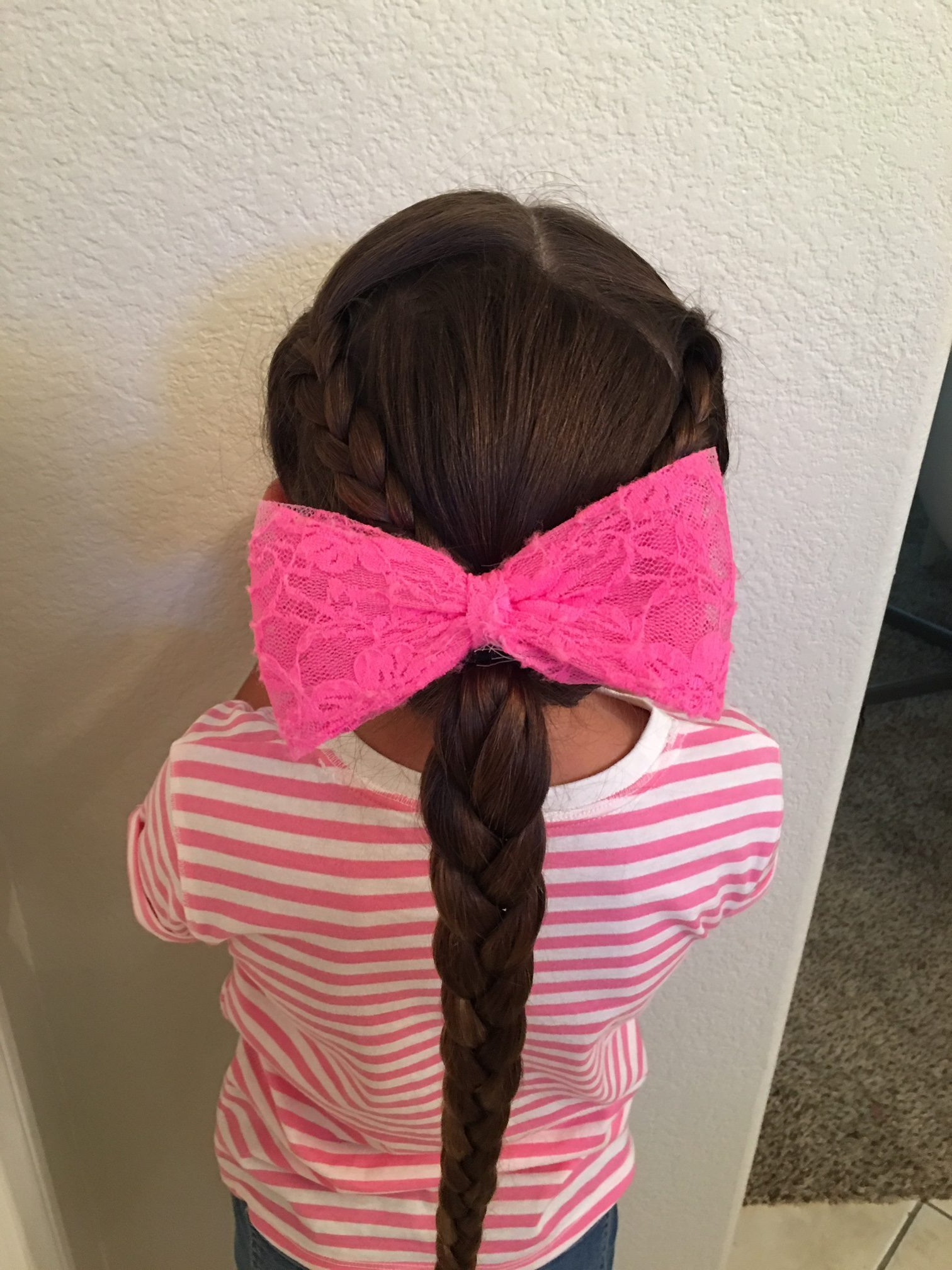 Most Current Pink Rope Braided Hairstyles Within 15 Little Girl Hairstyles For School – Million Ways To Mother (View 19 of 20)