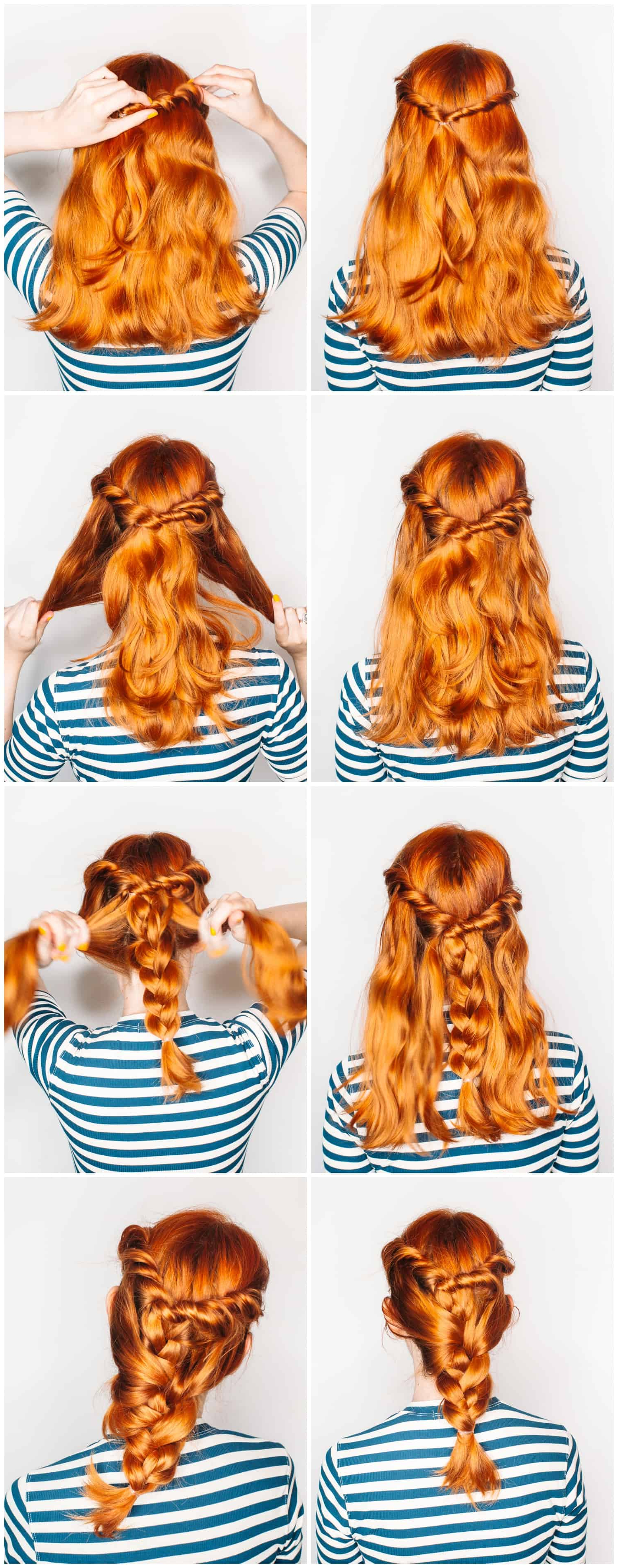 Most Current Three Strand Side Braided Hairstyles Intended For A Twist On The Classic Three Strand Braid – A Beautiful Mess (View 13 of 20)