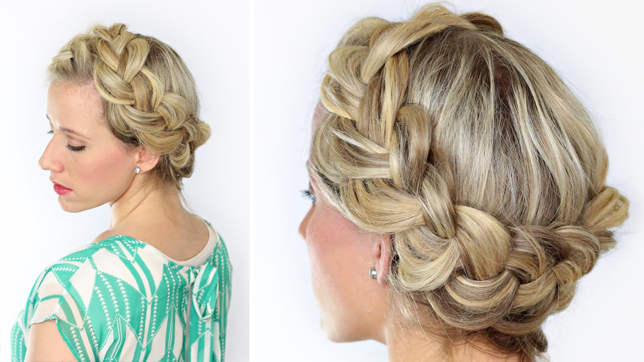 Most Current Voluminous Halo Braided Hairstyles Intended For Diy Soft Halo Braid (View 12 of 20)