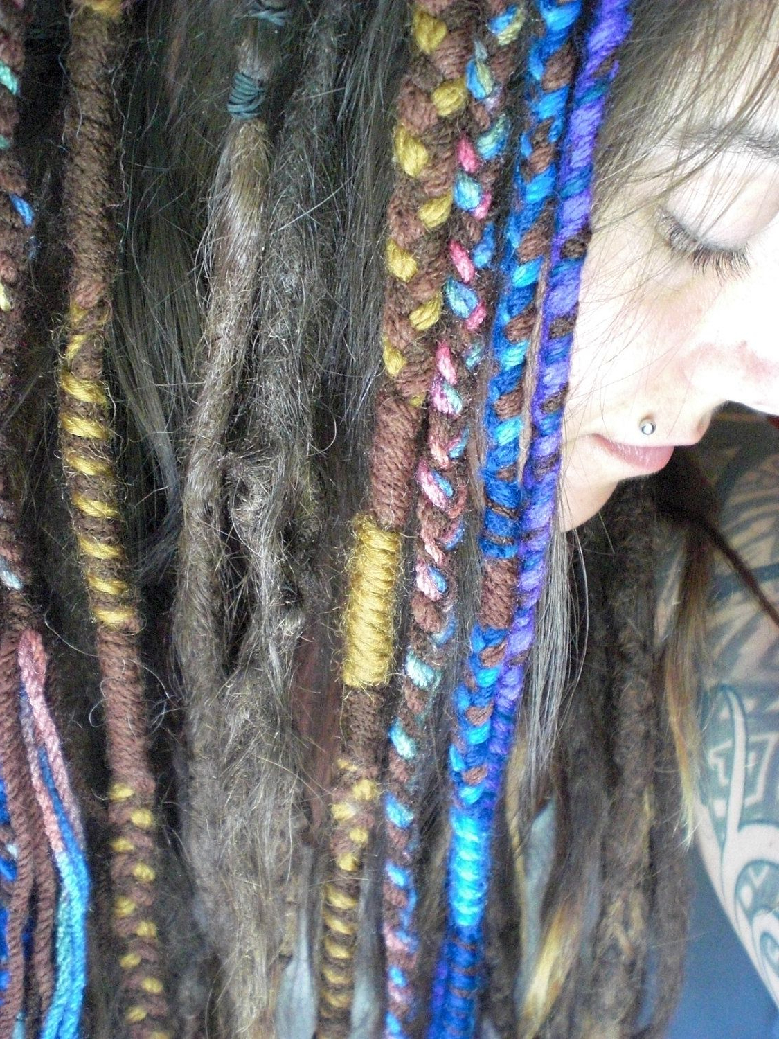 Most Popular Braided Hairstyles With Beads And Wraps With Regard To Pin On Braids, Dreads, Buns, & Other Fun 'do's (View 12 of 20)