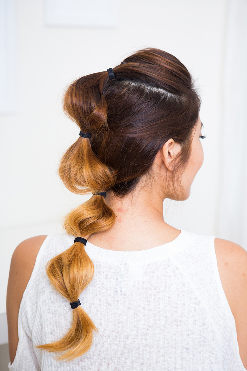 Most Popular Bubble Braid Updo Hairstyles Inside The Bubble Braid – Camille Styles (View 13 of 20)