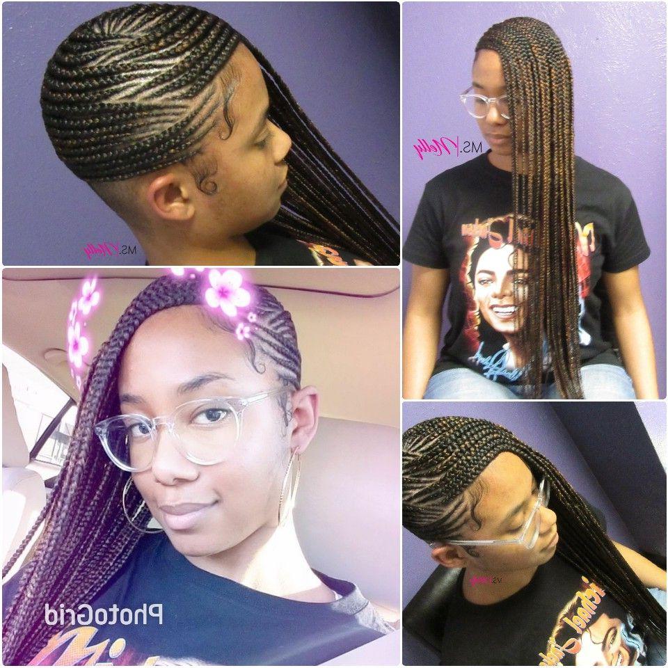 Most Popular Cherry Lemonade Braided Hairstyles With Regard To Lemonade Braids, Feeder Braids, Side Braids, Beyonce Braids (View 9 of 20)