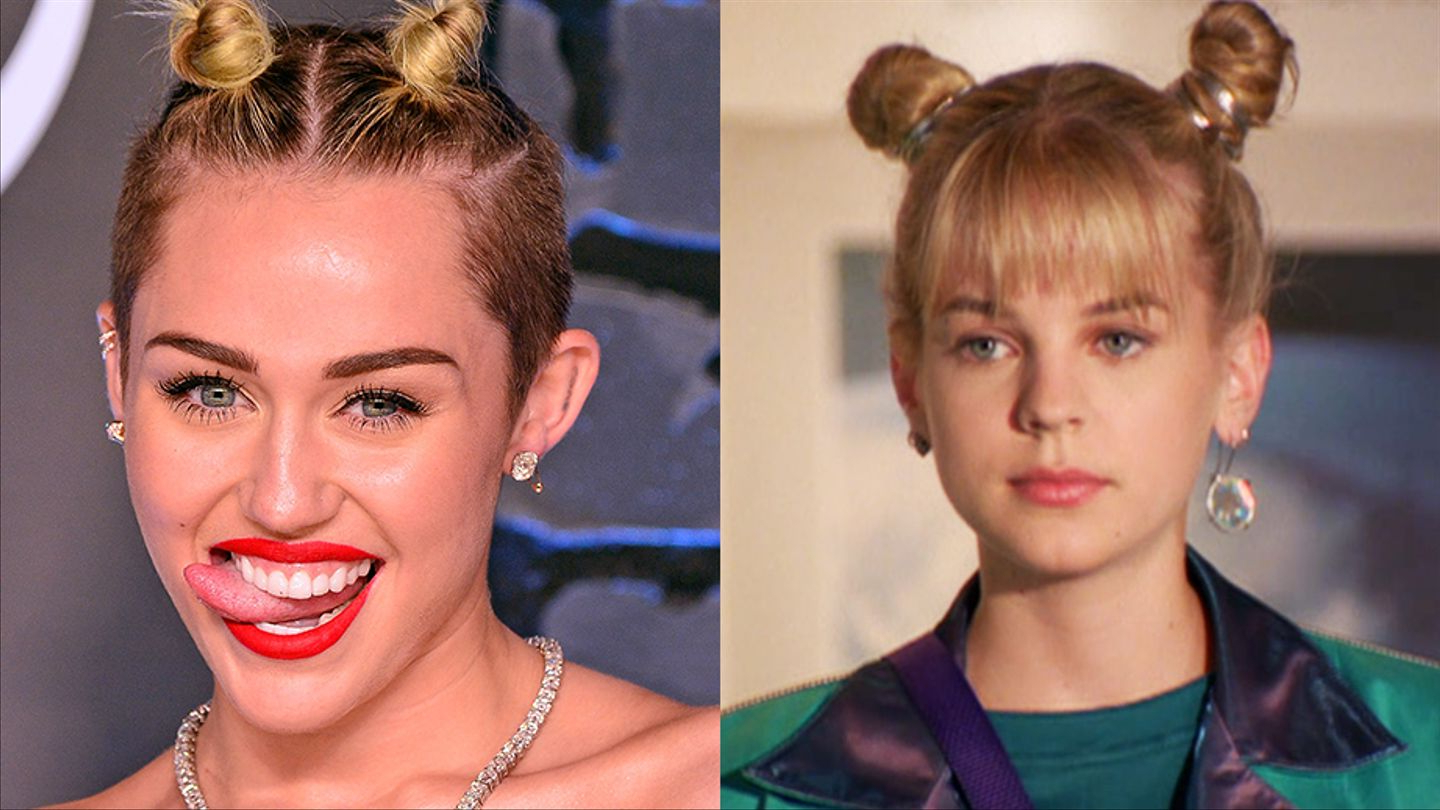 Most Popular Double Mini Buns Updo Hairstyles Inside 24 Stars Who Slay Double Space Buns Like Zenon Does – Mtv (View 12 of 20)