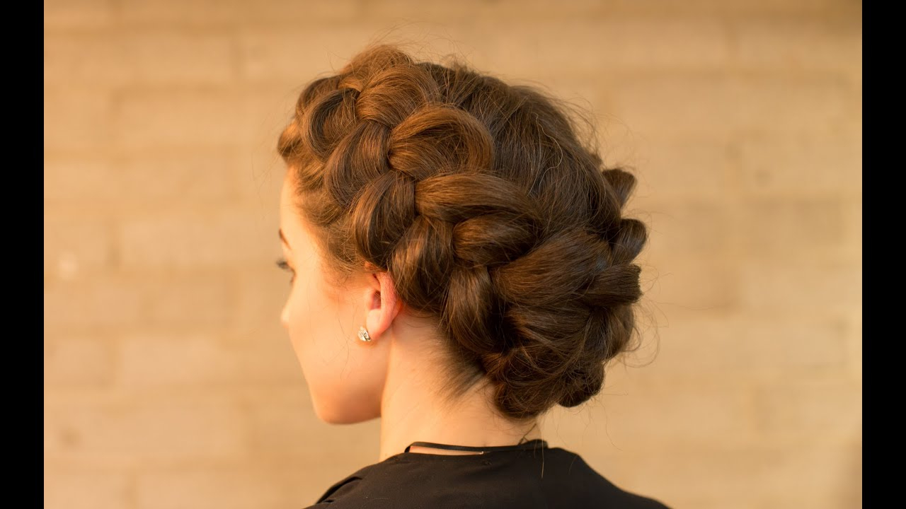 Most Popular Dutch Braid Bun Hairstyles For Double Dutch Braid Upstyle In Minutes (View 7 of 20)