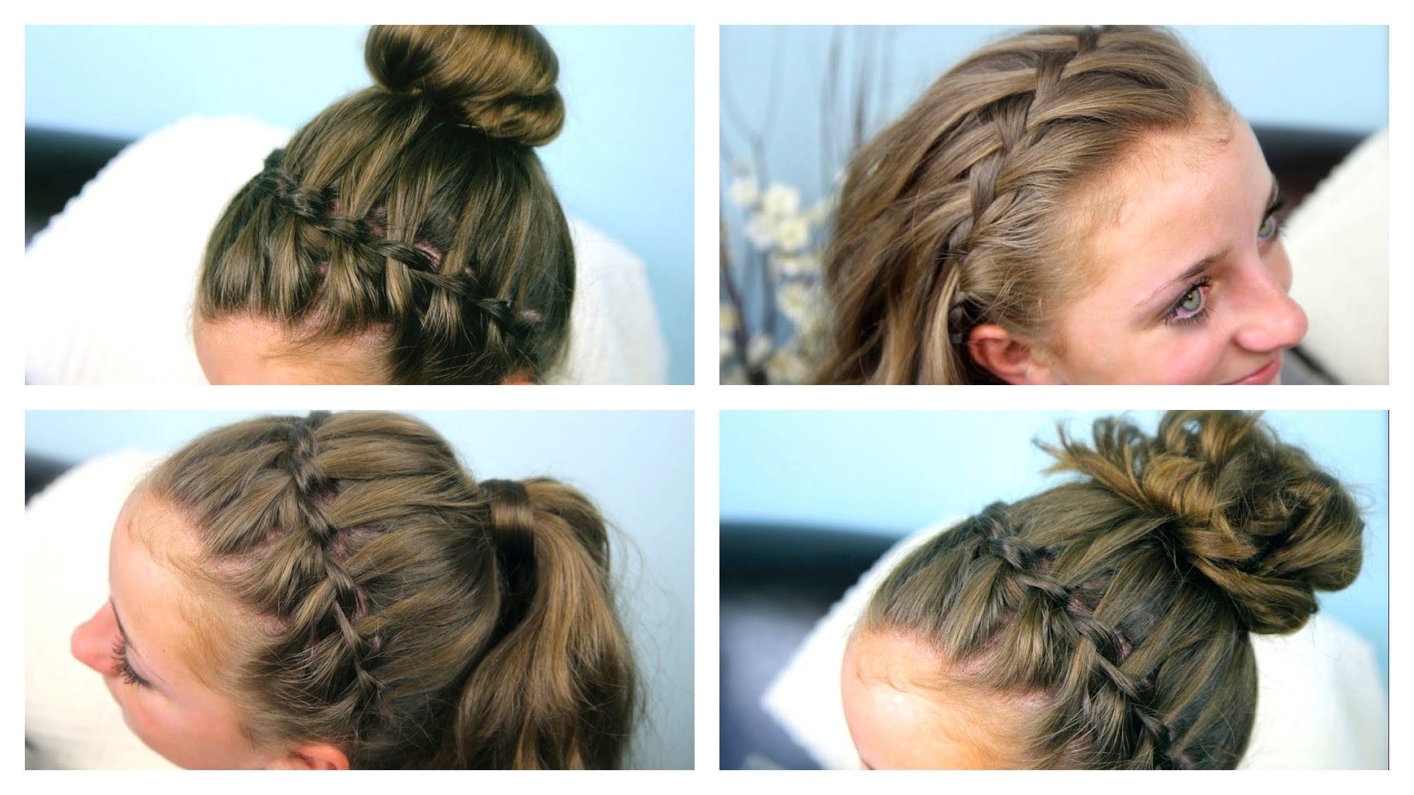 Most Popular High Waterfall Braided Hairstyles Inside Adorable Formal Hairstyle For Kids, The Waterfall Braid (View 16 of 20)