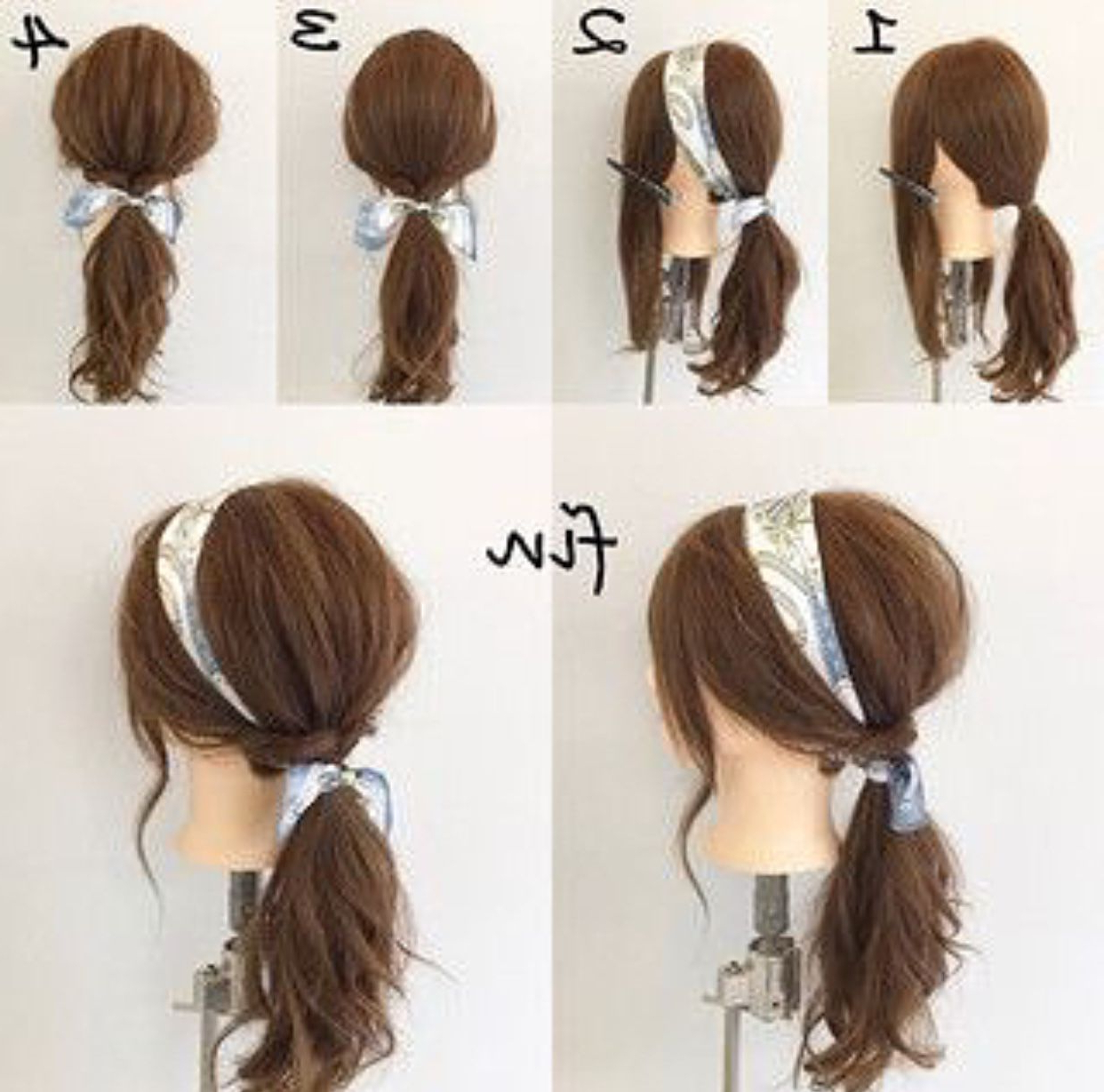 Most Popular Low Haloed Braided Hairstyles Throughout Nanchalee (Lnanchalee) On Pinterest (View 13 of 20)