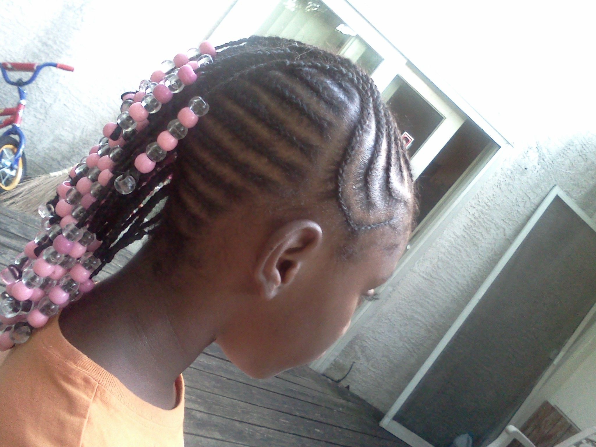 Most Popular Mohawk Braided Hairstyles With Beads With Little Girls Braided Mohawk With Beads (View 9 of 20)