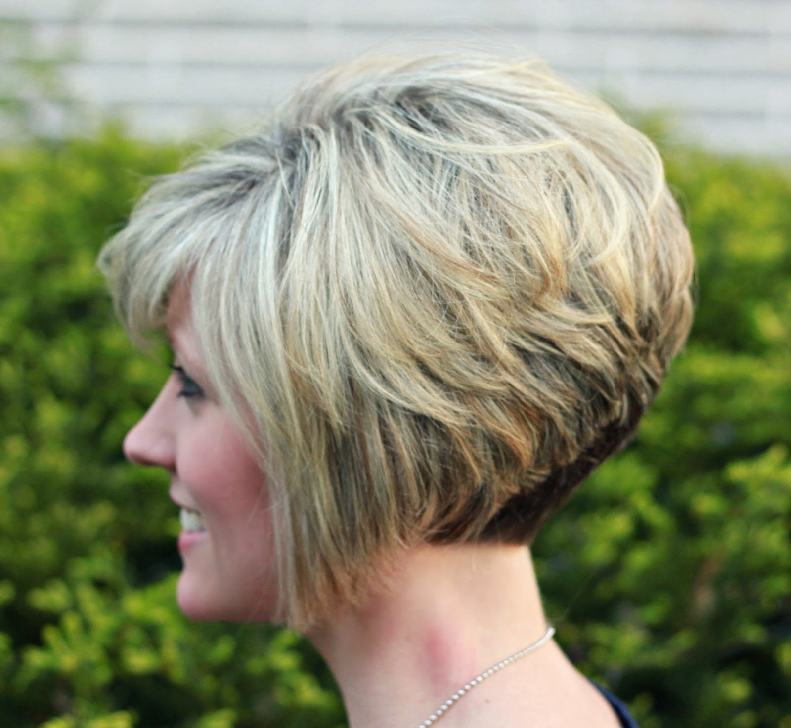 Most Popular Short Stacked Bob Micro Braids With Regard To Short Haircuts Back View Stacked (View 9 of 20)