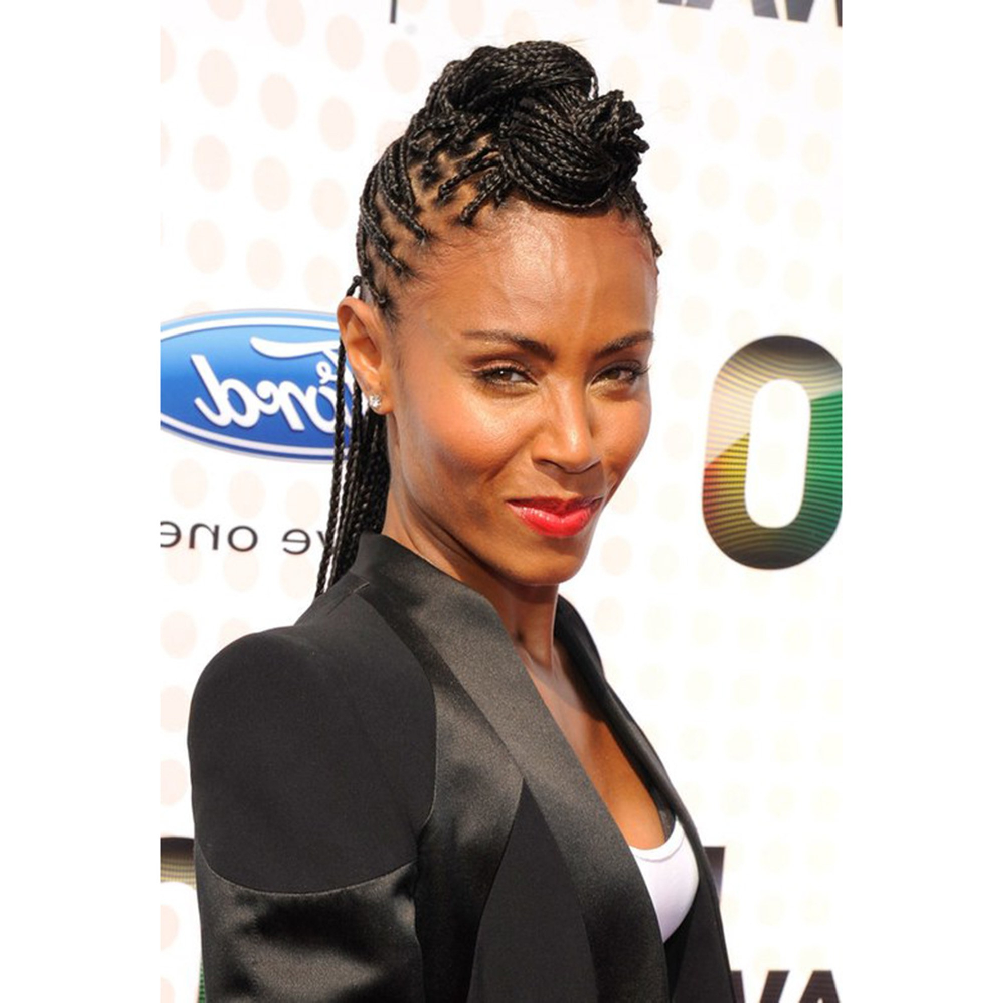 Most Popular Vintage Inspired Braided Updo Hairstyles Regarding 21 Dope Box Braids Hairstyles To Try (View 11 of 20)