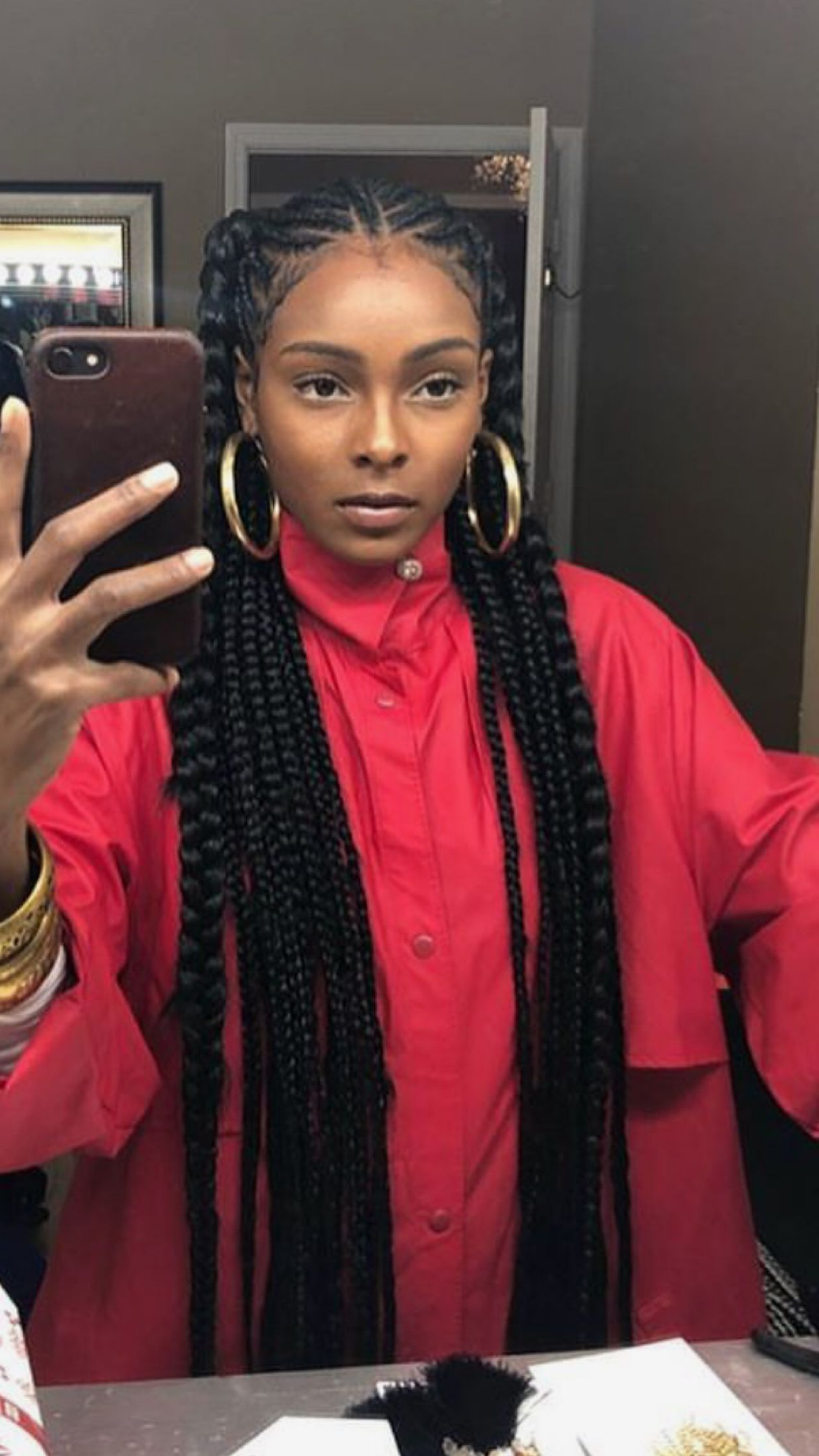 Most Recent Angled Braided Hairstyles On Crimped Hair Regarding Erikankansah For More Poppin Pins❣ (View 8 of 20)