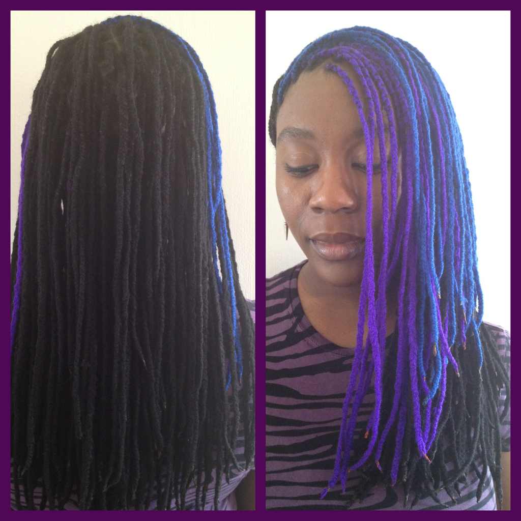 Most Recent Colorful Yarn Braid Hairstyles Intended For Yarn Braids I Did My Own Last Weekend (View 12 of 20)