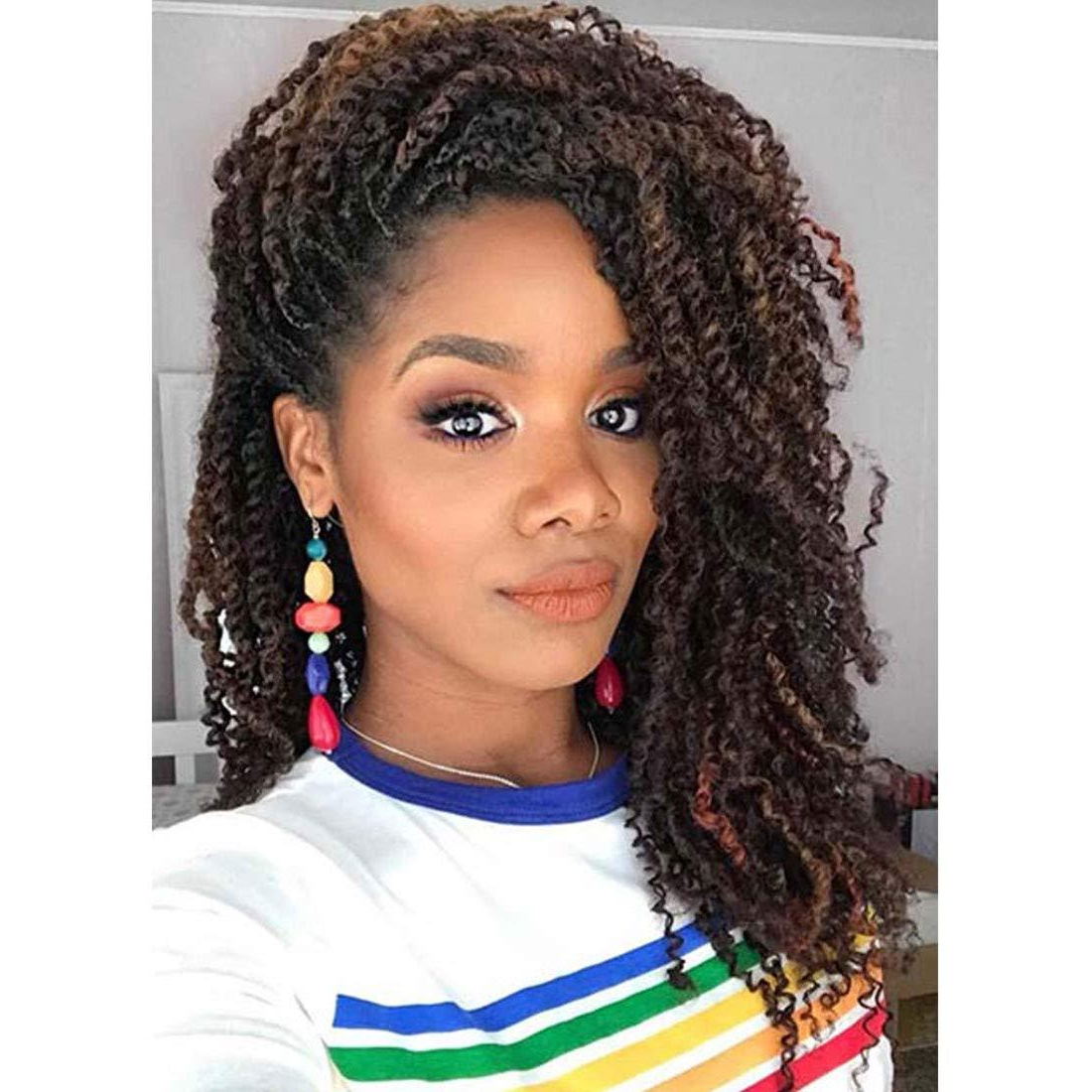 Most Recent Curly Crochet Micro Braid Hairstyles With Hot Selling! 1pcs Kanekalon Crochet Hair Braids 8inch Soft Spring Twist Hair Extension Micro Synthetic Curly Weave Crochet Braids 30roots (View 16 of 20)